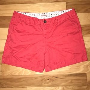 "Merona! Pink, 5"", shorts! Size 6!"